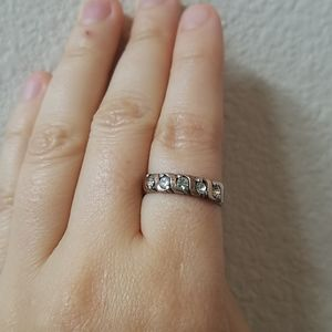 18K and Sterling Silver Ring